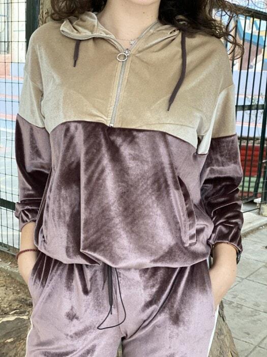 σετ velvet φορμα